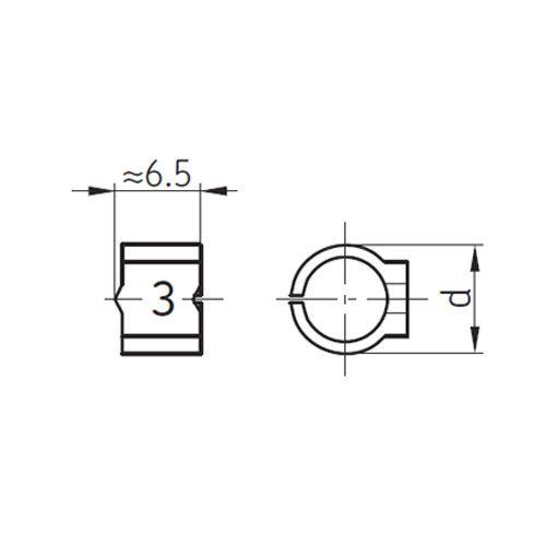SKF Kennzeichnungs-Clip