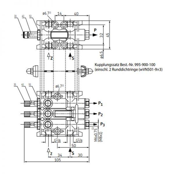 Kupplungssatz 995-900-100