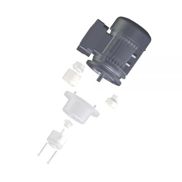 Zahnringpumpen 143 Motor