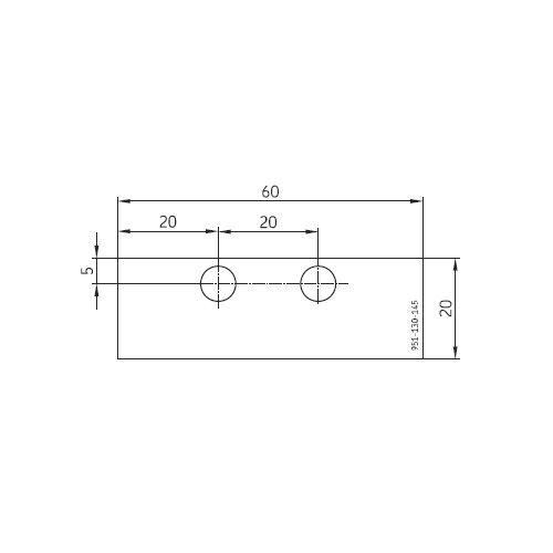 SKF Bohrschablone für VPBM Verteiler