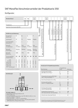 SKF Kolbenverteiler Serie 352