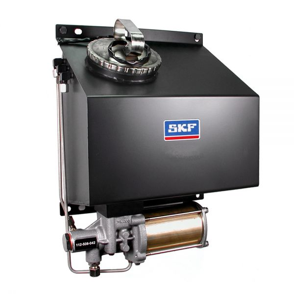 Kolbenpumpenaggregat 112-508-050 mit Behälter