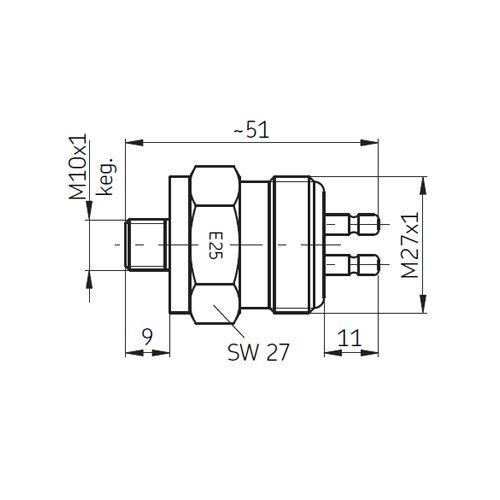 SKF Druckschalter DS-E
