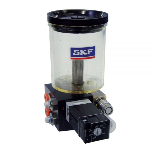 SKF VectoLub VE1B mit Behälter