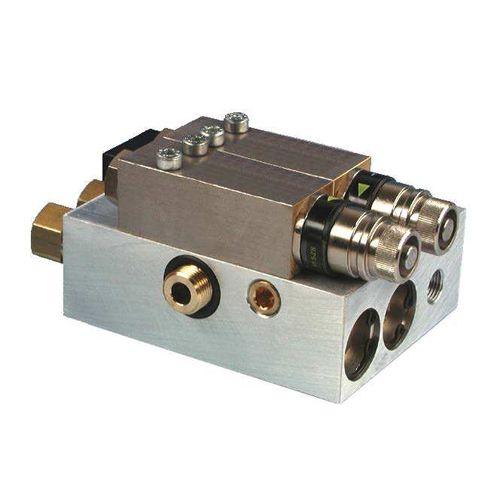 SKF Grundplatte, mit 2 Mikropumpen