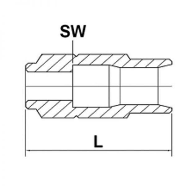 Schraubhülsen für Ø 4,1 x 8,75