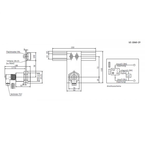 Annäherungsschalter UC-1060-19