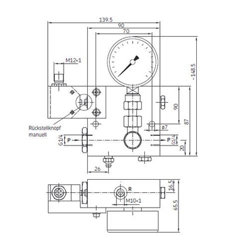 SKF Überdruckschalter PPU-UES-V57