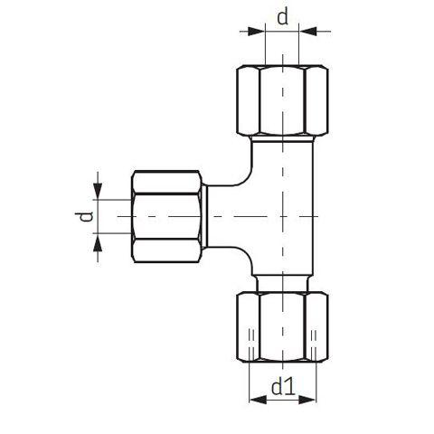 Einschraubverschraubung L-Form SKF Vogel