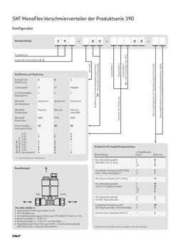 Artikelkonfiguration SKF Verteiler 393