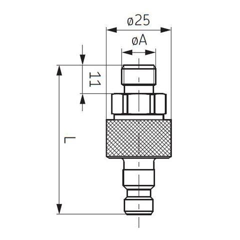 SKF-Steckkupplung; Abb. 1