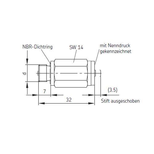 SKF Überdruckschalter VPM/G-UE 3