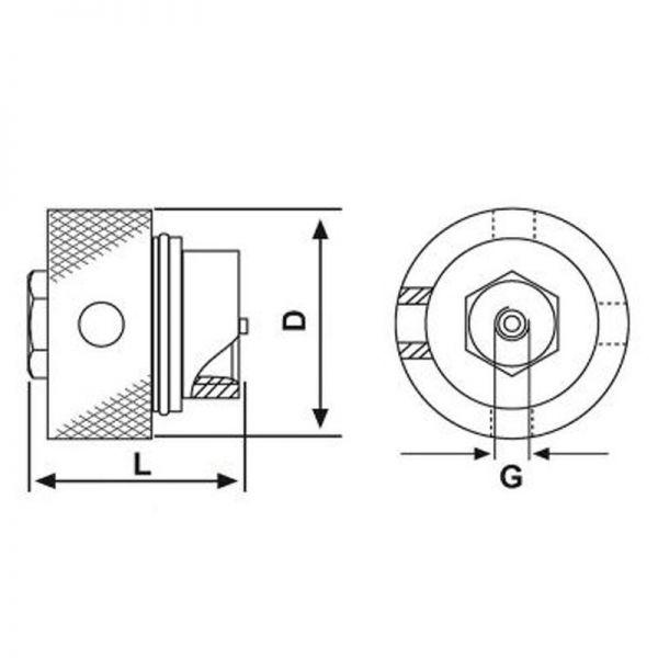 Kupplungsstecker für Hochdruckkupplungen