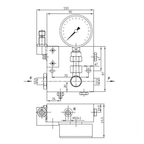 SKF Überdruckschalter PPU-UES-V70-S1