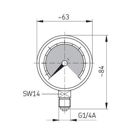 SKF-Manometer