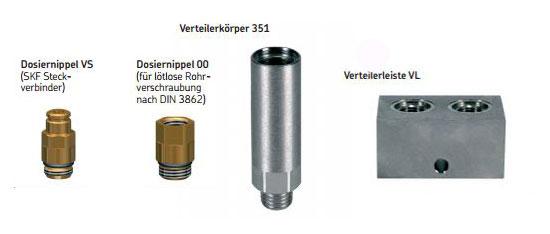 SKF MonoFlex Vorschmierverteiler 351