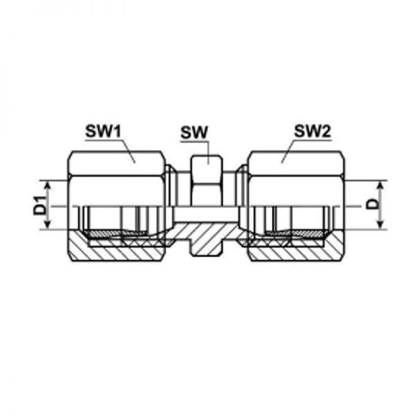 Verschraubungen Verbinder Stahl